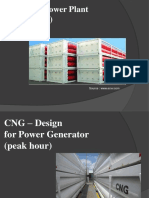 CNG Design Peak Power