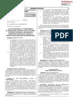 Ley que desarrolla y complementa el inciso m) del artículo 5 de la Ley 28303 Ley Marco de Ciencia Tecnología e Innovación Tecnológica desde la perspectiva de enfoque de discapacidad