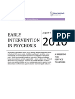Early Intervention Service Planning Guidance 2010