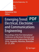 Emerging Trends in Electrical Electronic and Communications Engineering