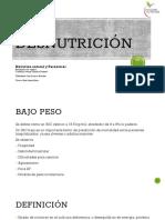 1 Desnutrición
