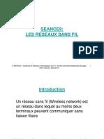 SEANCE_9_Les réseaux sans fils
