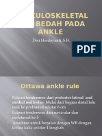 Muskuloskeletal non bedah pada ankle(musc.ibu dwi).pptx