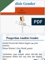 Analisis Gender