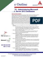 Administering Microsoft SQL Server 2012 Databases