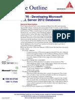 Developing Microsoft SQL Server 2012 Databases