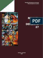 Breve Resumen Al Tratamiento Jurisprudencial de La Sala Constitucional Venezolana Sobre Arbitraje - Gilberto a. Guerrero-Rocca - Revista Derecho - No27