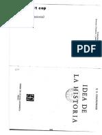 02043016 COLLINGWOOD - La Idea de La Historia