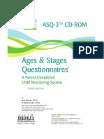ASQ 3 Questionnaires3rd Ed 2009