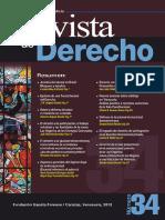 Nuevos Avances Sobre Arbitraje en Venezuela - Gilberto a. Guerrero-Rocca - Revista Derecho - No34