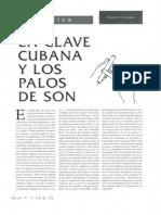 118 -- La Clave Cubana y Los Palos de Son