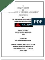 The Kataria Automobiles Ltd