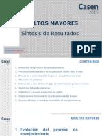 CASEN 2015 Resultados Adultos Mayores