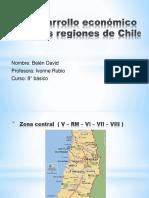 Desarrollo Económico de Las Regiones de Chile
