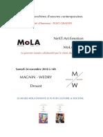 VAE Mola/ Magnin-Wédry à Drouot
