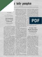 Newspaper Sample