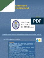 Contenidos Básicos de Comunicacion Institucional