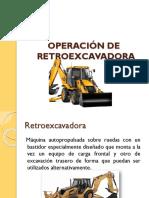 Operacion de Retroexcavadora i