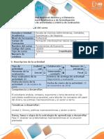 Guía de Actividades y Rubrica de Evaluación -Fase 3 Analizar Las Problemáticas Macroeconómicas en La Situación Planteada