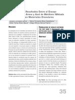 Correlación EA vs Azul de Metileno