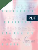 Calendario Mejores Dias Septiembre 2018