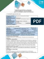 Guía de Actividades y Rúbrica de Evaluación - Tarea 3 - Elaborar Una Presentación en Powerpoint de Las 4 Biomoléculas Orgánicas