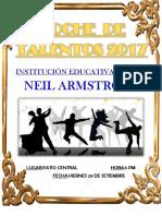Programa de Noche de Talentos 2017