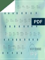 Calendario Mejores Dias Noviembre 2018