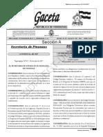 Reglamento de Facturación, Otros Documentos Fiscales y Registro Imprentas (2017) [B]