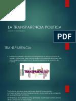 La Transparencia Politica