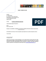 14. Surat Pernyataan Kenaikan Limit