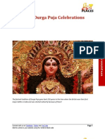 History of Durga Puja Celebrations