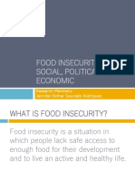 food insecurity social political legal