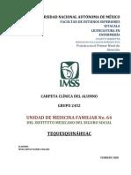 Carpeta Clinica Alumno Umf64