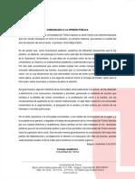 COMUNICADO CONSEJO ACADÉMICO UT 2-NOV-2018