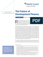 The Future of Development Finance