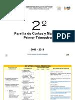 2° Grado Parrilla 2018-2019 MODIFI