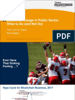 SYM27 - 10d - Blockchain Usage in Public Sector What to Do