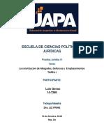 Luis Genao Tarea I Practica Juridica III