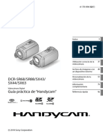Manual Sony Handycam DCR-SX43