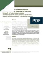 El Circuito Monetario Los Bienes de Capital y de Las Institucio 2017 Econom