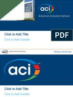Aci Presentation 05