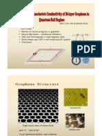 Transverse Thermoelectric Conductivity of Bi-layer Graphene in Quantum Hall Regime