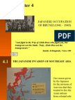 Chapter 4 (The Japanese Occupation Of Brunei 1941 - 1945)