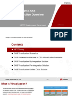 Training Document U2000 MBB V200R018C10 OSS Virtualization (1) Solution Overview V1.0