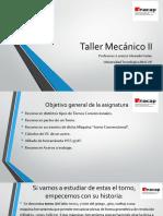 Taller Mecánico II Clase Inacap PRIMAVERA 2018