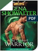 The Darkest Warrior (Los Señores Del Inframundo 14) - Gena Showalter