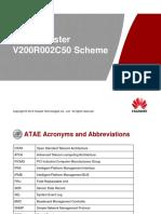 Training Document IManager ATAE Cluster V200R002C50 Scheme-20160418-A V1.0