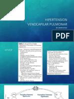 HIPERTENSION VENOCAPILAR PULMONAR