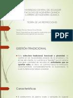 Gestion Tradicional y Por Procesos